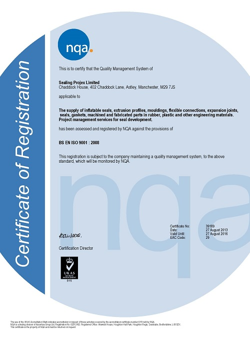 Please click on the image to view our full certificate as a PDF