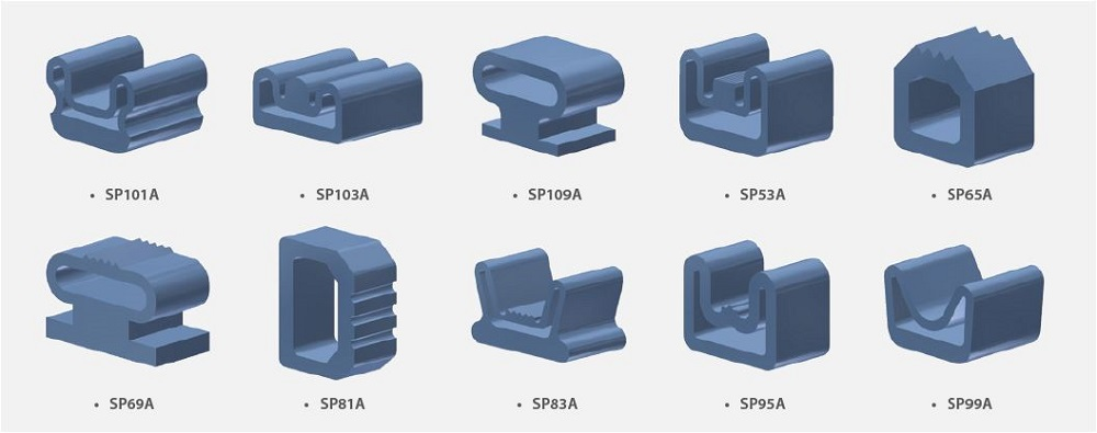 3D Inflatable Seal Profile Examples